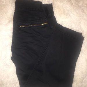 H&M Black low cut pants